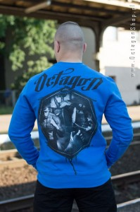 Bluza OCTAGON Fight Life blue