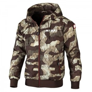 Kurtka PIT BULL WEST COAST Athletic VII camo brown