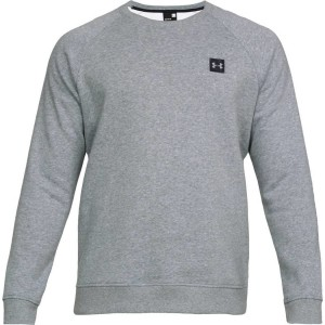 Bluza UNDER ARMOUR Rival Solid Fleece Crew szary-036