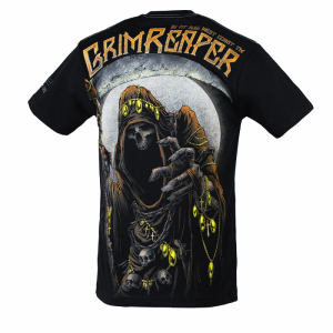 T-shirt PIT BULL WEST COAST Grim Reaper17 black