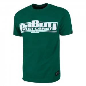 T-shirt PIT BULL WEST COAST Classic Boxing 18 green