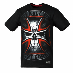 T-shirt PIT BULL WEST COAST Skull Cross