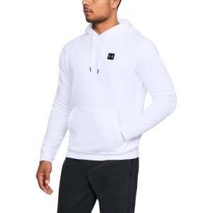 Bluza z kapturem UNDER ARMOUR Rival Fleece PO Hoddie biały-100