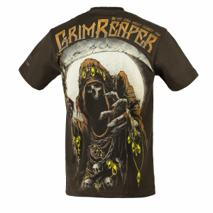 T-shirt PIT BULL WEST COAST Grim Reaper17 brown