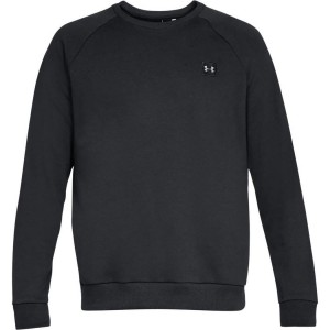 Bluza UNDER ARMOUR Rival Fleece Crew czarny-001
