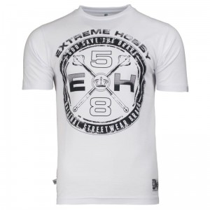 T-shirt EXTREME HOBBY Rebel white