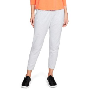 Spodnie damskie UNDER ARMOUR Favorite Tapered Slouch szare-052