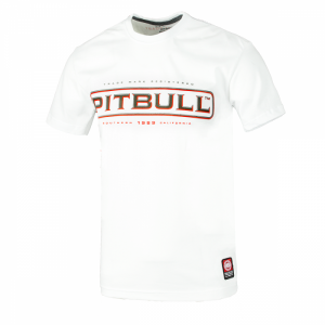 T-shirt PIT BULL WEST COAST Monroe white