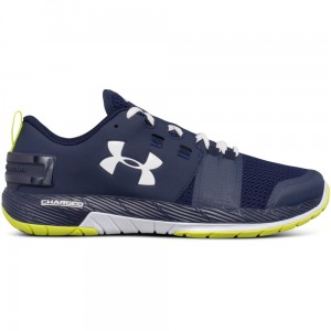 Buty UNDER ARMOUR UA Commit TR granatowy/zielony-400