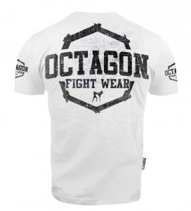 T-shirt Octagon Fight Wear II WHITE