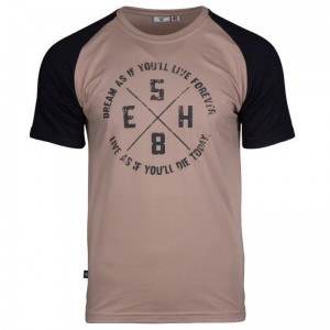 T-shirt EXTREME HOBBY James beżowy