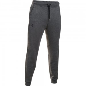 Spodnie UNDER ARMOUR Rival Cotton Jogger grafitowy-090
