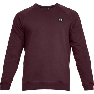 Bluza UNDER ARMOUR Rival Fleece Crew bordo-600
