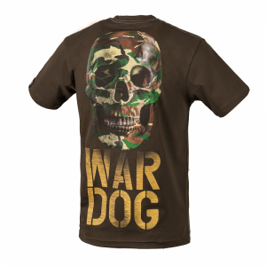 T-shirt PIT BULL WEST COAST War Dog brown