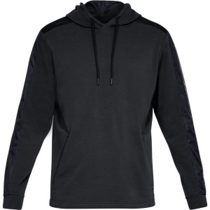 Bluza z kapturem UNDER ARMOUR Threadborne Terry PO Hoodie czarny-001